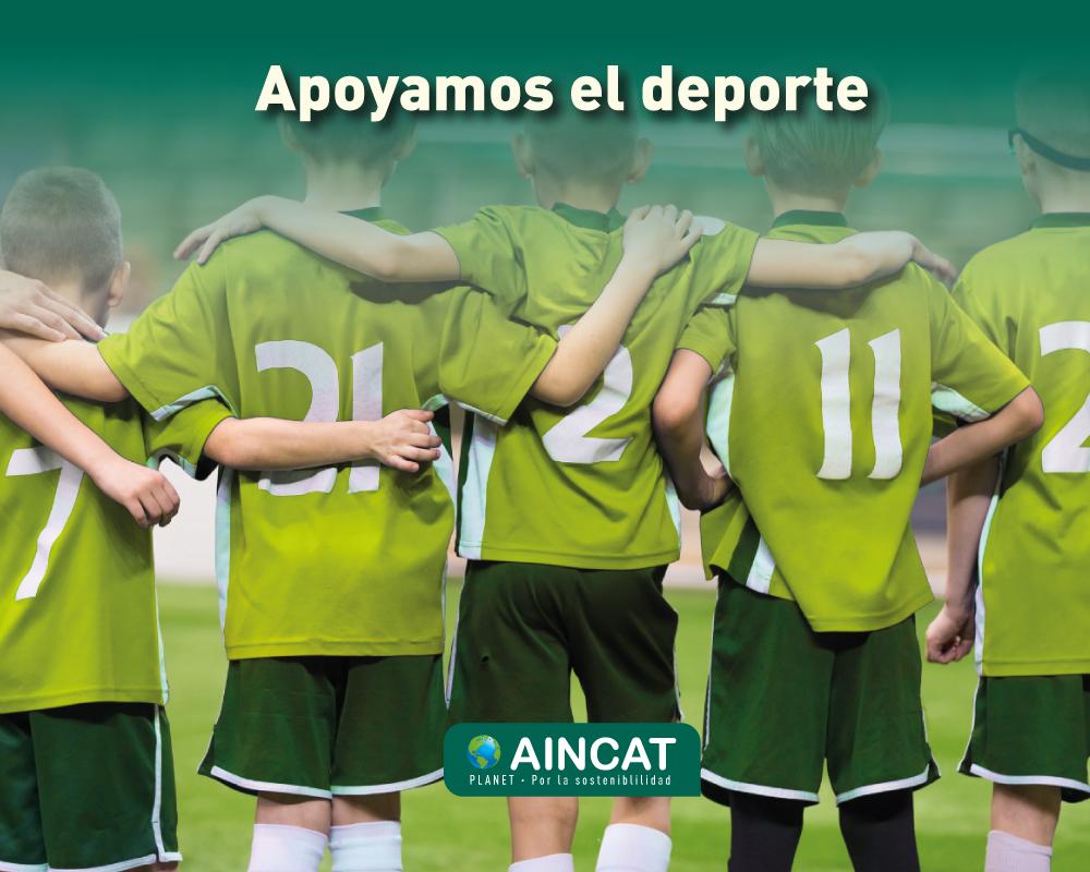 Aincat apoya el deporte