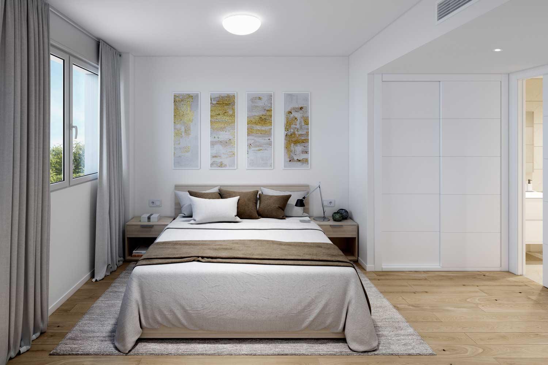 Dormitorio Obra Nueva Viladecans Aincat